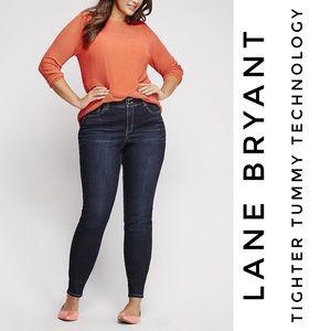 🌿➕NEW {LANE BRYANT} High Rise Skinny Jeans